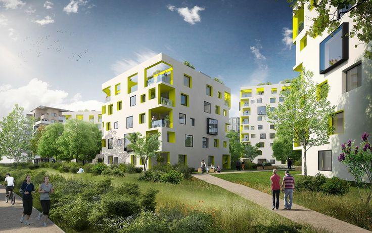 Developerský projekt Praha 8 – Rohan City - Sekyra Group