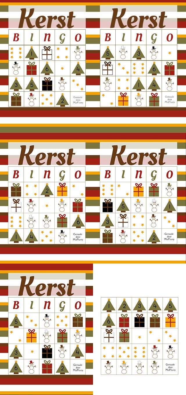 Gratis te downloaden (PDF) bingo. Printbare plaatjesbingo voor kleuters en oudere kinderen. van: www.mizflurry.nl