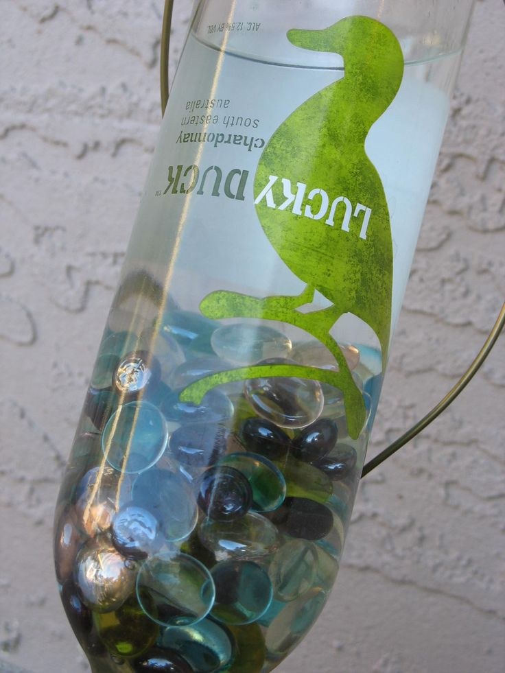 water plants while away: Plant Waterer, Container Gardens, Vacation, Wine Bottles, Plants Garden, Garden Plants