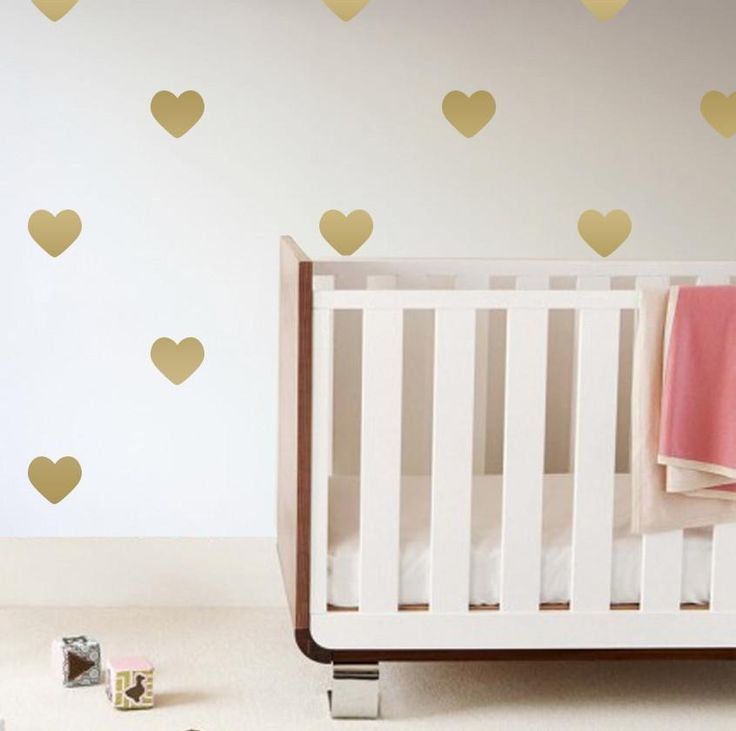 smartness ideas heart shaped wall decor. Gold Heart Wall Decals 280 best Nursery Inspiration images on Pinterest  50 grey