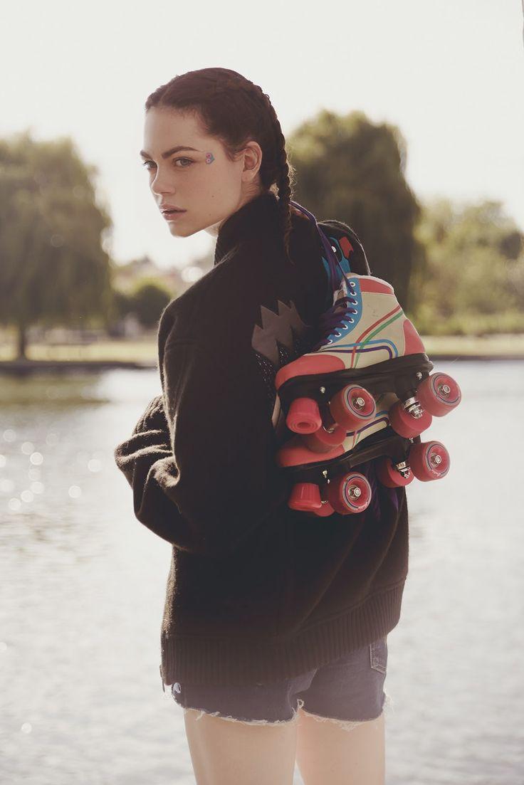 Cuillère à absinthe - Summertime goodbyes (sept 2014) / patins à roulettes UO