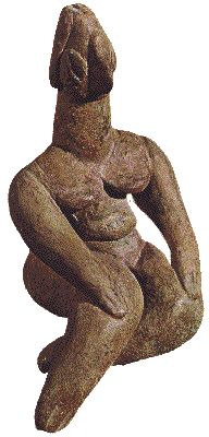 New Stone Age clay figurine, Pharsala, Thessaly, Greece 5000-4000BC