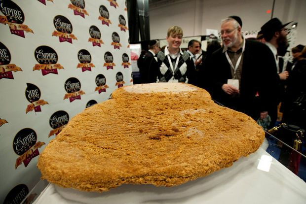 Photos: World's largest chicken nugget on display in ...
