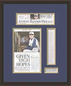 88 best sports custom framing ideas images on pinterest custom frame a newspaper article yahoo image search results solutioingenieria Gallery