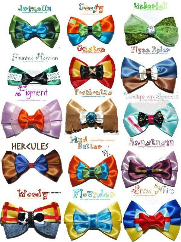Disney Hair Bows<3 | Hair