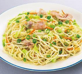 お料理レシピ | 塩焼きそば | オタフクソース株式会社