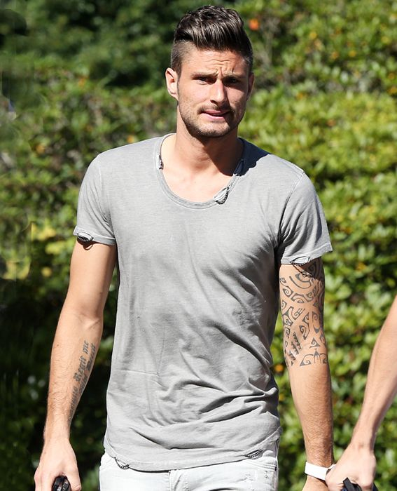 The Hottest 2014 World Cup Soccer Players—Out of Their Uniforms! - Olivier Giroud from #InStyle