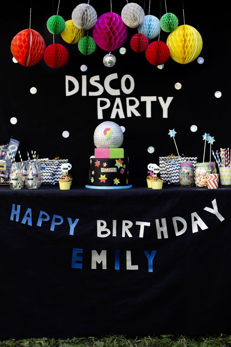 14 best Disco Party images on Pinterest | Geburtstage, Partyideen ...