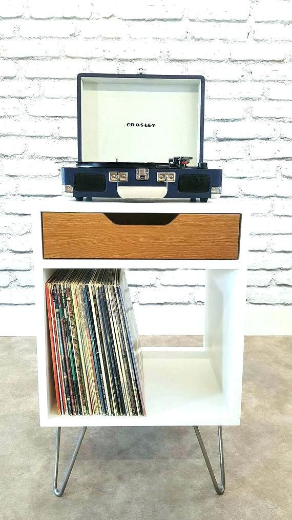 Add Legs To An Ikea Cube For The Record Player With Images