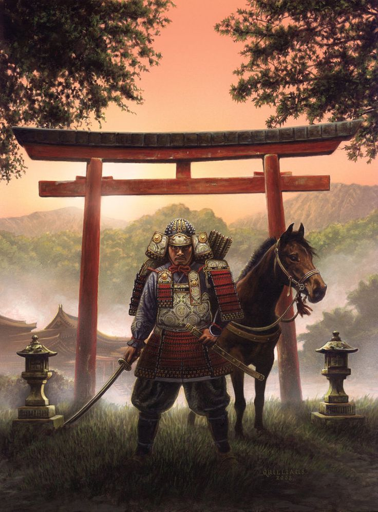 Land of the Samurai by ChrisQuilliams on DeviantArt