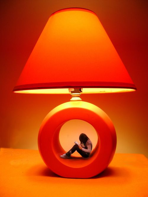 Insert my little jamie. A modern giant orange lamp sculpture. #orange #lamps #modernart