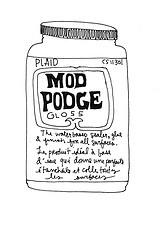 Mod Podge Formula Guide.