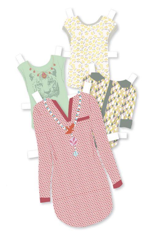 Hatalmas gardrób- papír öltöztető babák rengeteg kiegészítővel (Djeco) | Pandatanoda.hu Játék webáruház