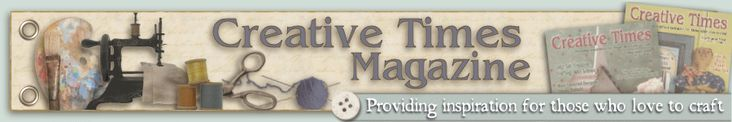Creative Times Magazine where I write a short column on organizing. Get free craft patterns and other great info in every issue.