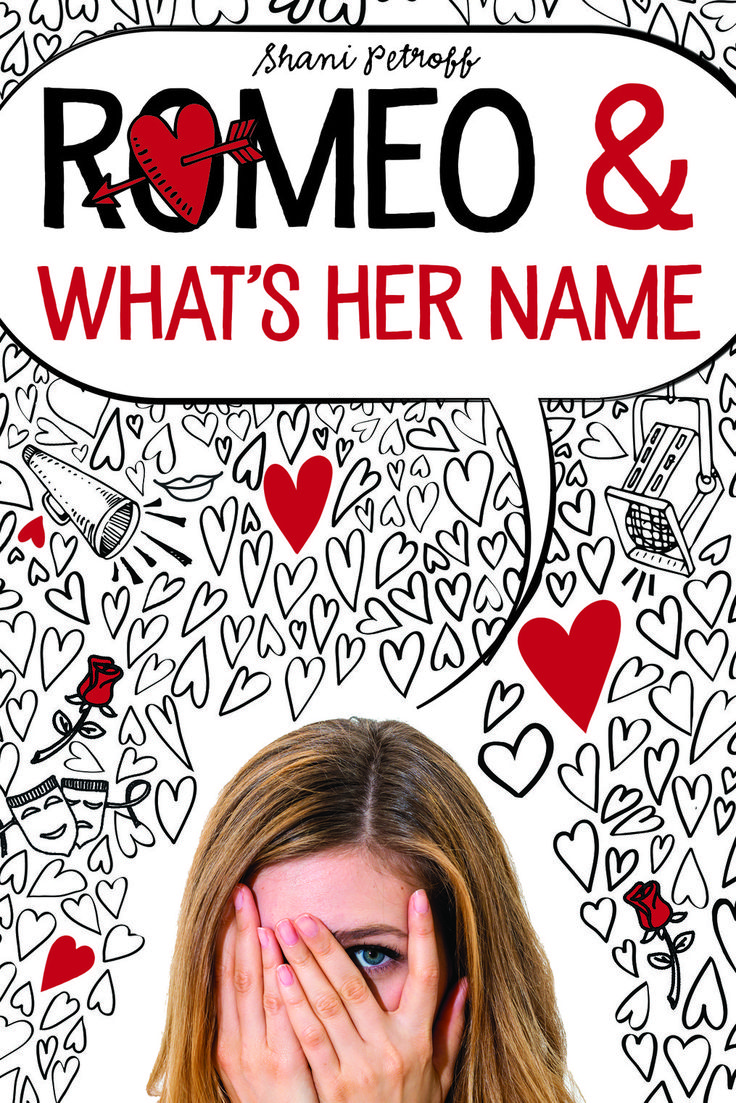 #coverreveal: Romeo & What's Her Name  Shani Petroff