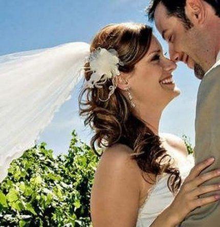 27 Trendige Ideen für Hochzeitsfrisuren mit Pferdeschwanzschleier – Wedding Dresses & Weddings