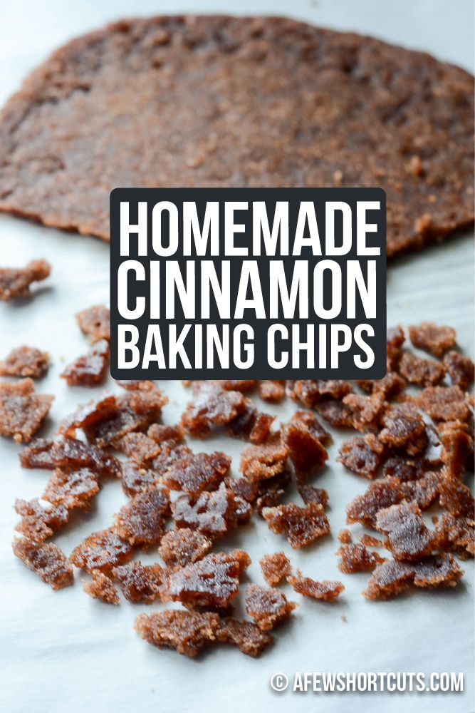 Do you love cinnamon muffins, scones, cookies, and more. You have to try this simple Homemade Cinnamon Baking Chips Recipe. THEY ARE AMAZING!