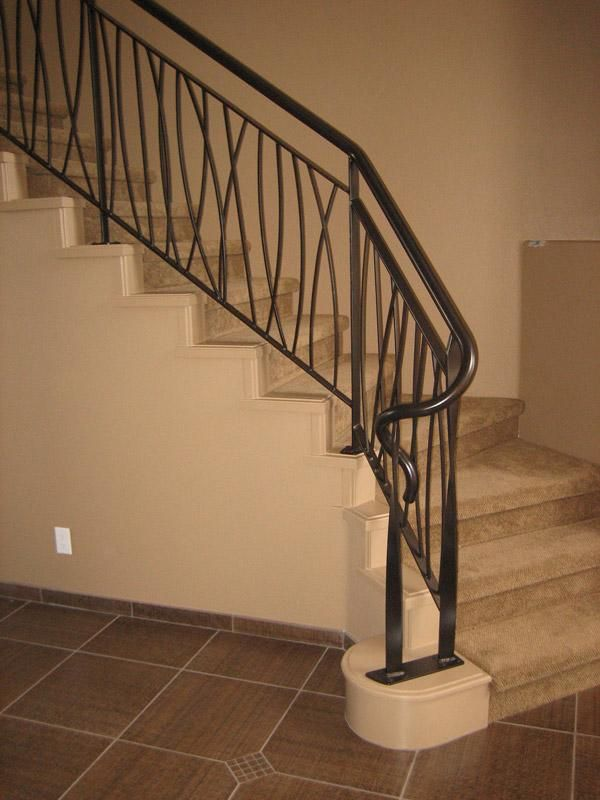 how to make wood railings more updated