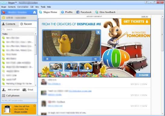 Skype Reklam Örnekleri 3