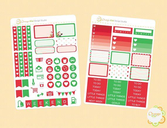 Christmas Weekly Kit Christmas Mini Kit Christmas Planner