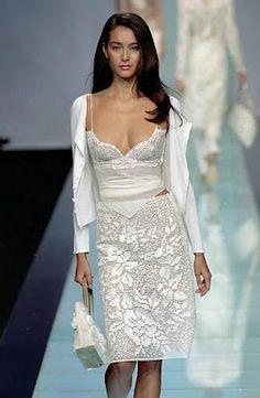 Филейная юбка с подиума крючком (схема)