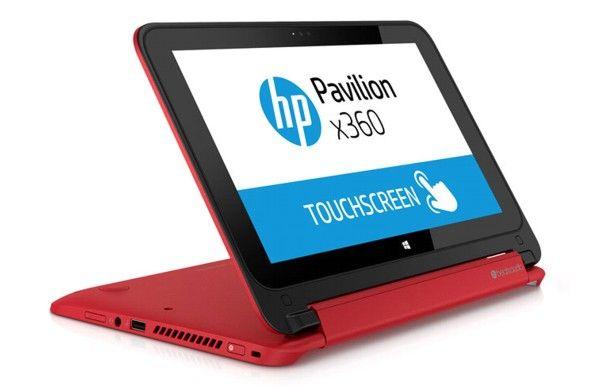 HP Pavilion x360, una portátil convertible con pantalla táctil de 11.6 pulgadas.