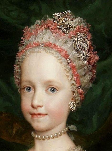 Maria Theresa of Austria by Anton Raphael Mengs