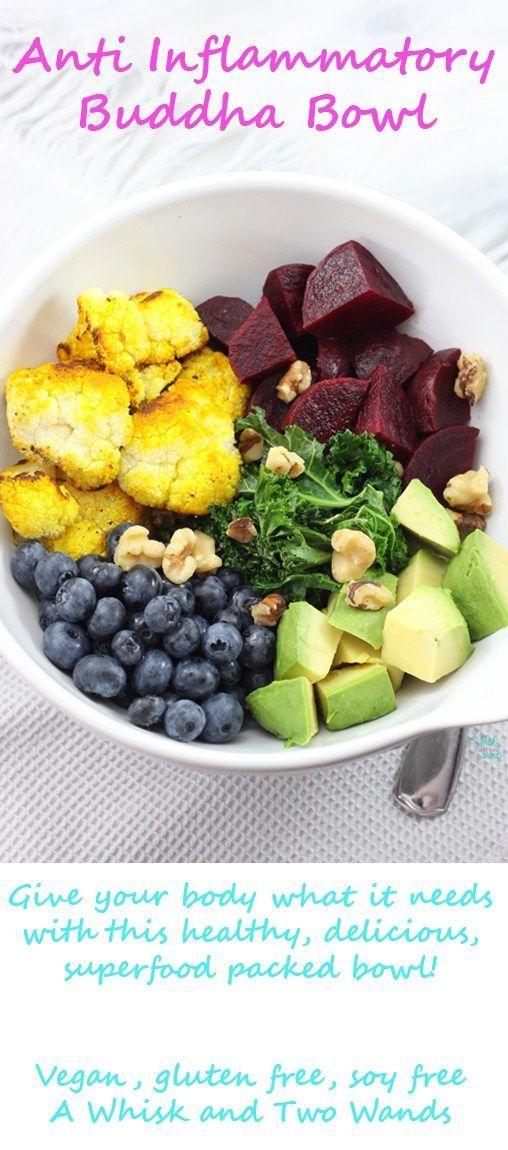 Anti Inflammatory Buddha Bowl Anti Inflammatory Recipes