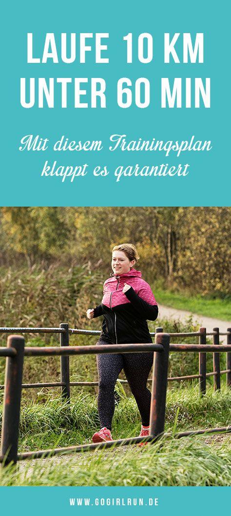 Laufe 10 Kilometer unter 60min in nur 10 Wochen. Mit einem fundierten Trainingsp… – Fit nach der Schwangerschaft – Gruppenboard