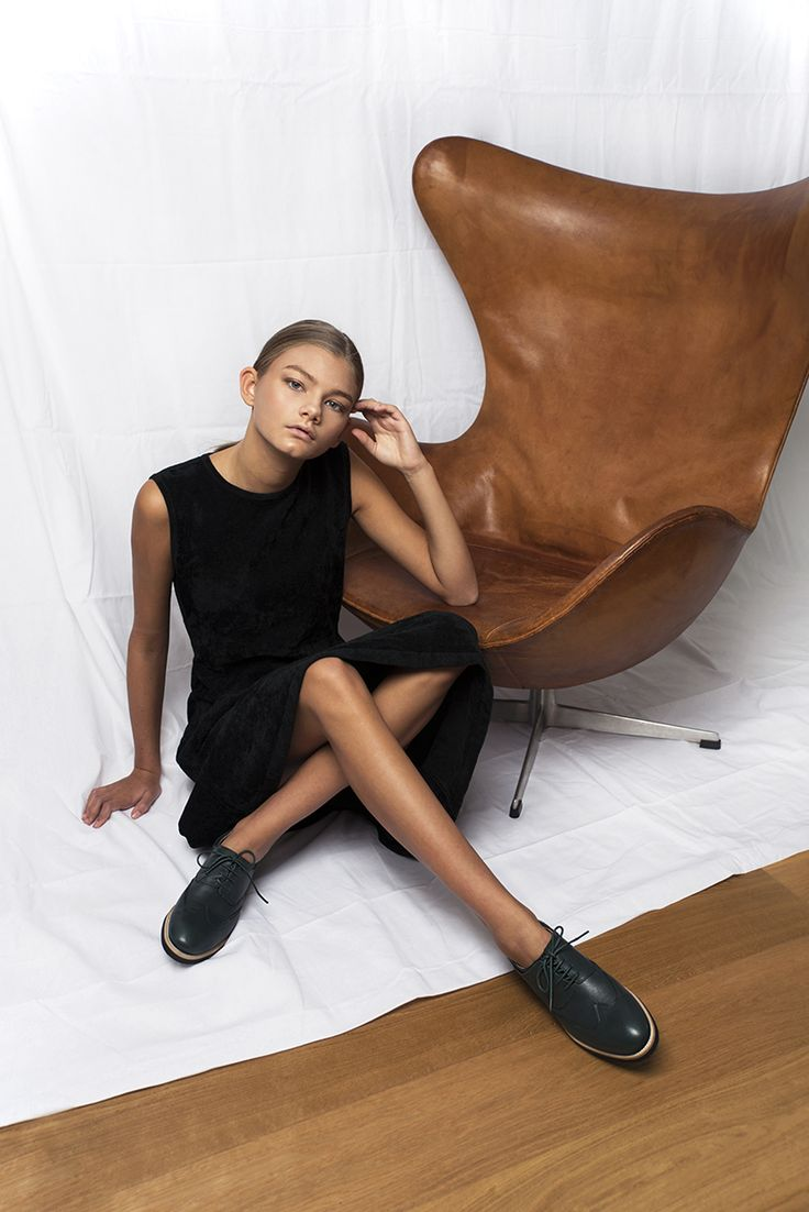Brogues for women from Swedish label Stig Percy