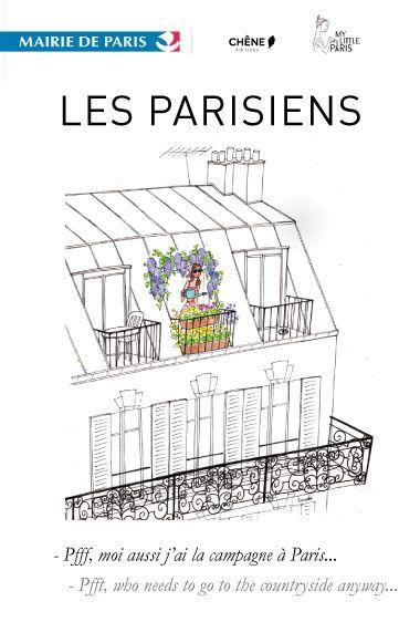 Les Parisiens, Sur les murs de l�H�tel de Ville - du 12 Septembre au 7 Octobre.