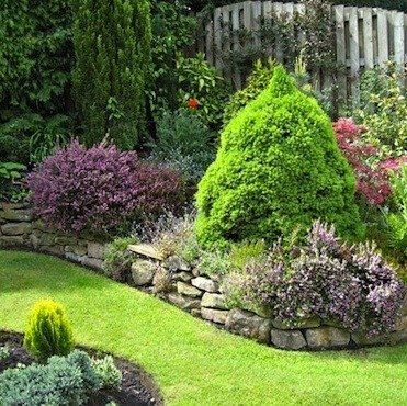 stone raised garden beds - Google Search
