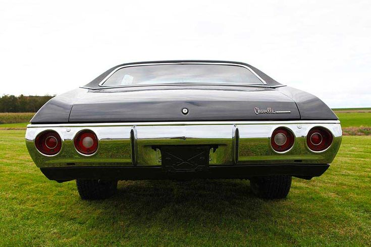 Chevrolet Chevelle V8 350ci 1971 – CCC