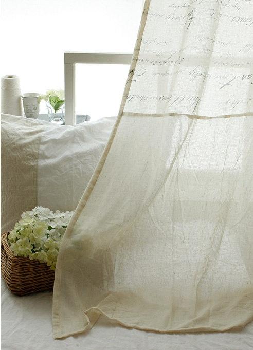 Like the curtain
