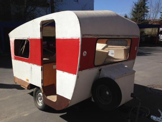 Oldtimer Wohnwagen, 250€ VB