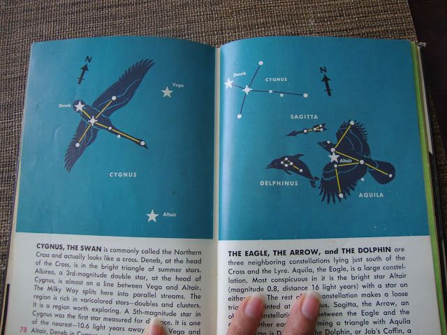 Silly Eagle Books: vintage space book and kid's craft