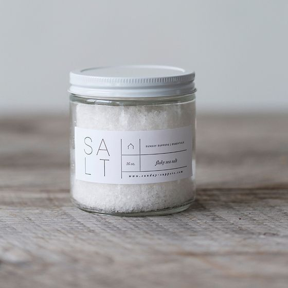Flaky Salt | White | Sunday Suppers