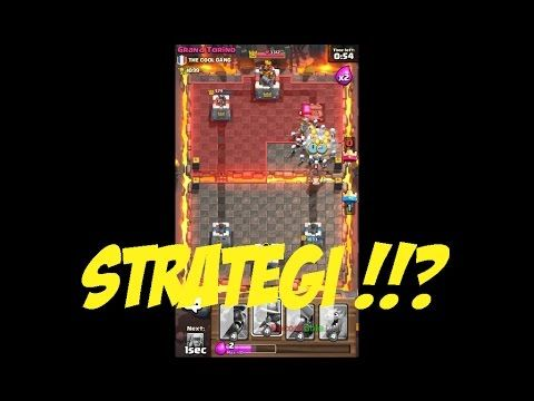 Strategi Jitu - Clash Royale Indonesia Gameplay #20