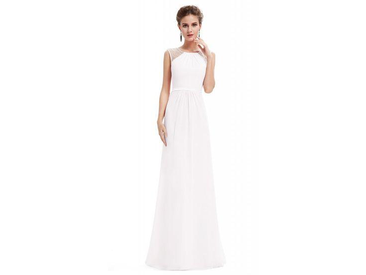 Ever Pretty bilé šaty s perličkami. ŠATY IHNED K VYZKOUŠENÍ V DOSTUPNÝCH VELIKOSTECHV NAŠÍ KAMENNÉ PRODEJNĚ COOL BOUTIQUE - VINOHRADSKÁ 36 PRAHA 2 Nádherné společenské šaty v bílé barvě vhodnénejen na svatbu.Materiál 100% Polyester Délka šatů od...