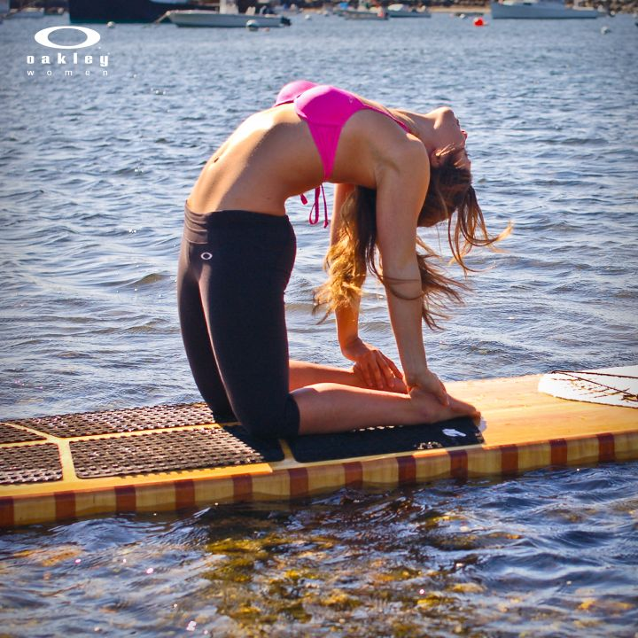 Ustrasana…the asana that improves posture, strengthens the back and stretches the entire body. National Yoga Month