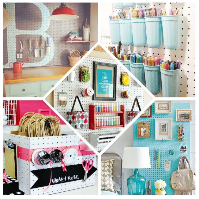 5 ideas con paneles perforados | Handbox Craft Lovers | Comunidad DIY, Tutoriales DIY, Kits DIY