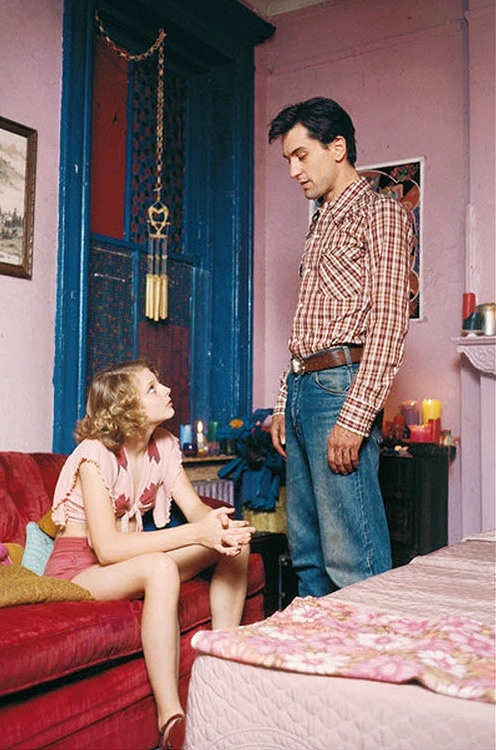 taxi driver. When he doesn't sleep with her and instead wants to help her. Truly awesome.