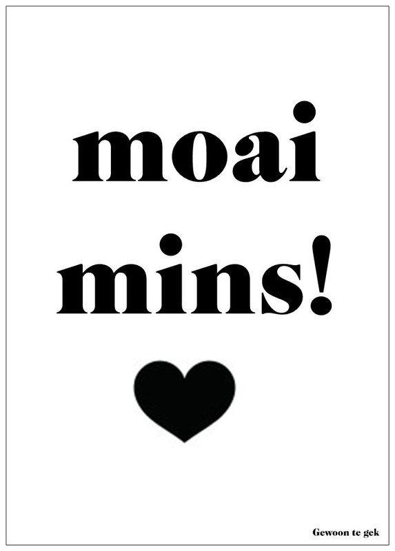 Moai mins! | Home | Gewoon te gek