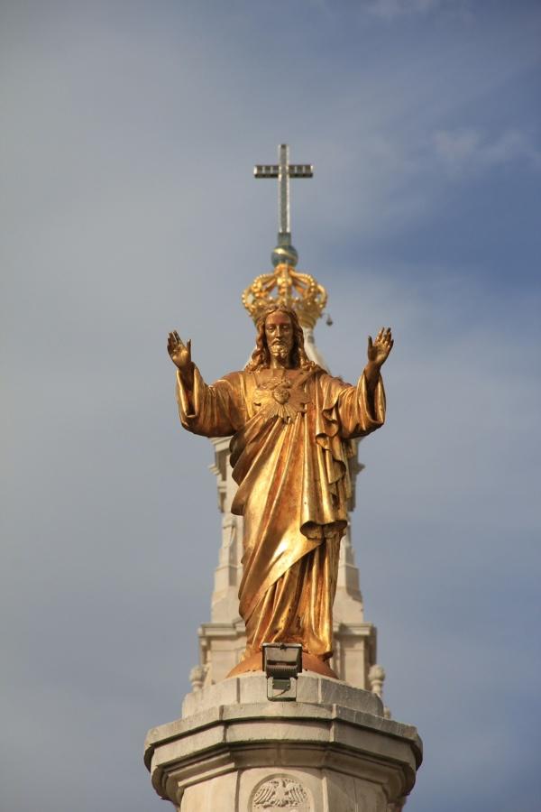 Sagrado Coração de Jesus, no Recinto de Nossa Senhora de Fátima.