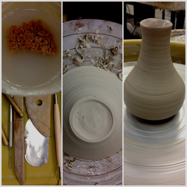 Pottery, clay, ceramics, wheel throwing.  Love this!!!