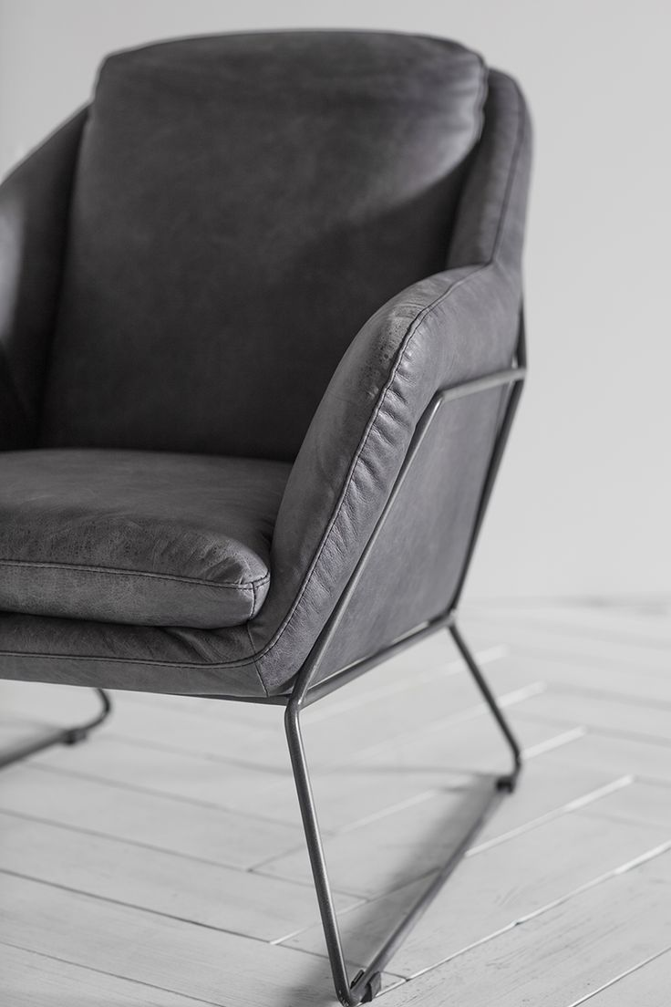 George Leather Armchair by Perch & Parrow