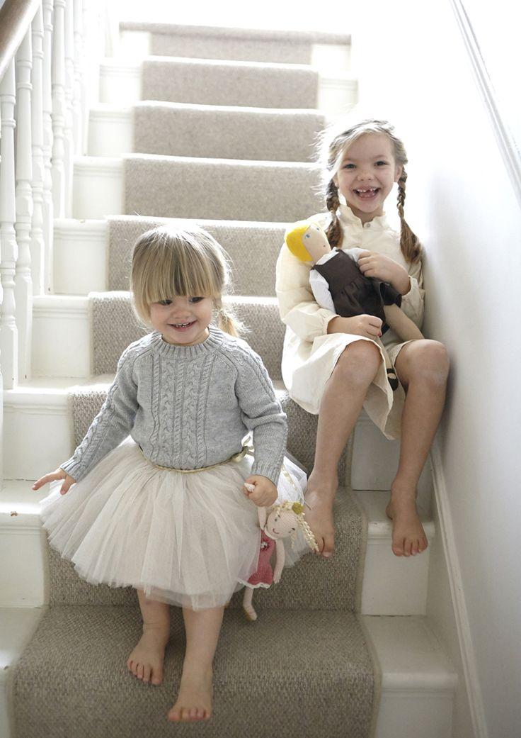 """so sieht ein """"Teppich"""" auf der Treppe doch gar nicht SO schlecht aus, oder?"""