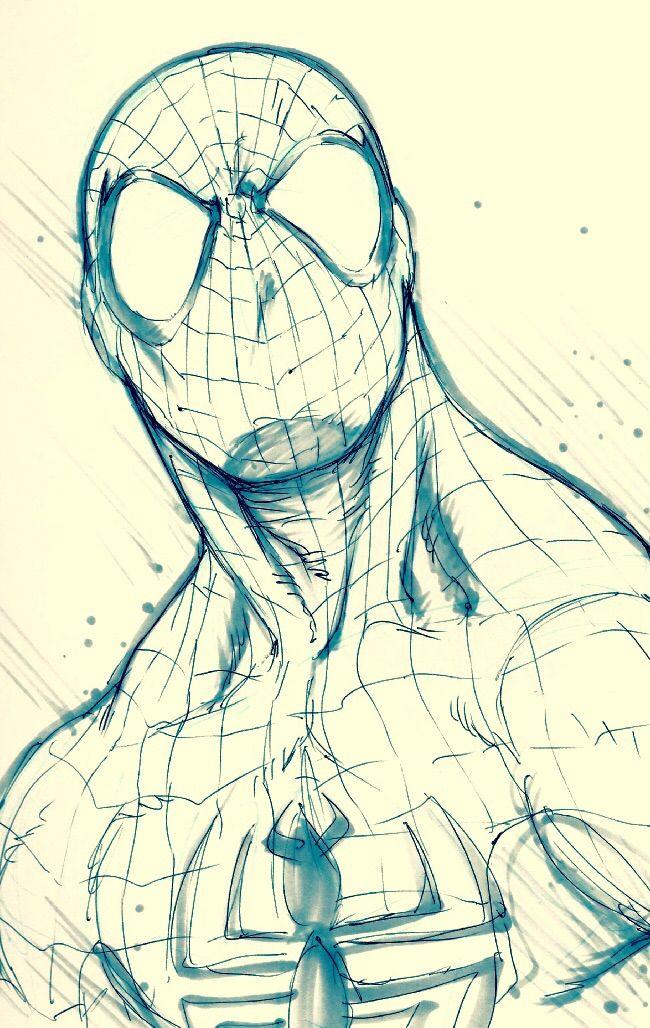 Spider-Man by Alvin Lee #ComicArt