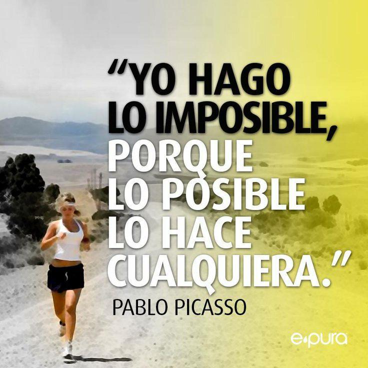 Yo hago lo imposible (pineado por @PabloCoraje) #Citas #Frases #Quotes