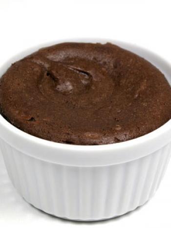 Mousse de chocolate. Postre Dukan